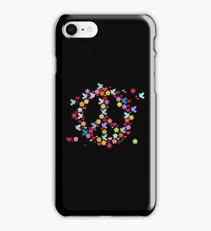 Flowerpower Peace VRS2 iPhone Case/Skin