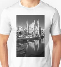 Valletta Marina reflections  T-Shirt
