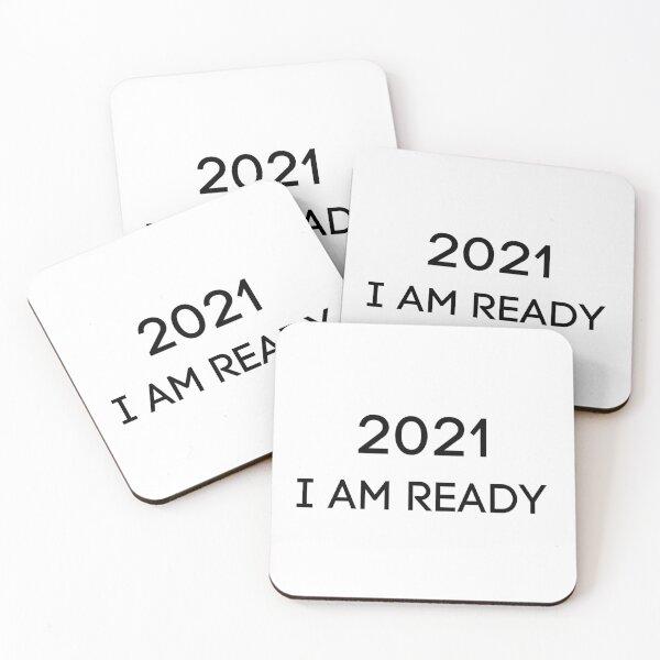 2021 I am Ready Coasters (Set of 4)