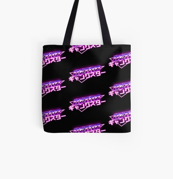 Retro Gangster All Over Print Tote Bag