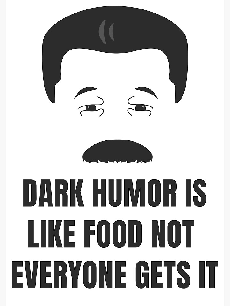 Ist essen humor schwarzer wie Schwarzer Humor