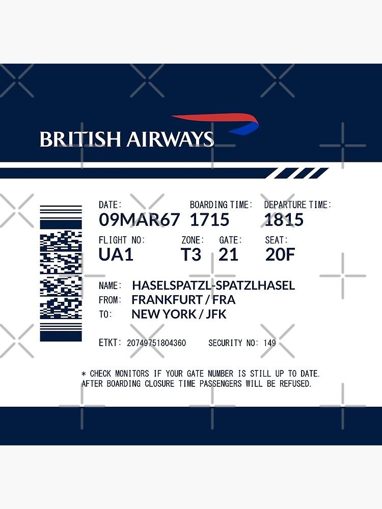 Boarding Pass DFM by twgcrazy