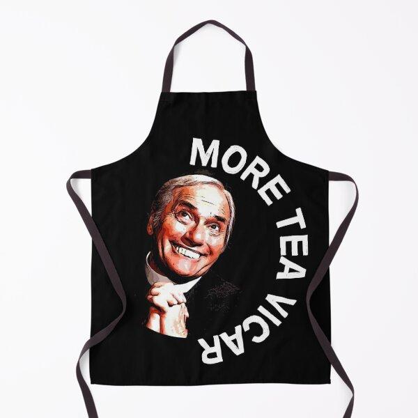 Dick Emery Vicar Nostalgia - Vicaire drôle - Eglise amusante - Cadeaux de pétant de thé - Thé d'amour Tablier