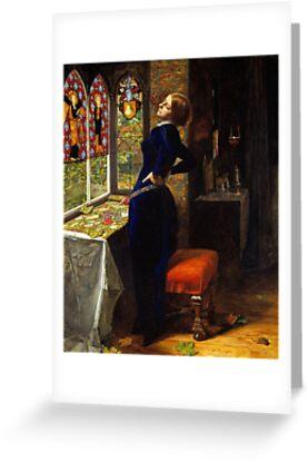 Sir John Everett Millais - Mariana, Tate Britain by MotionAge Media