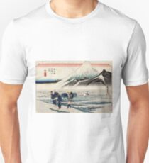 Hara - Hiroshige Ando - 1833 - woodcut T-Shirt