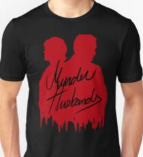 Murder Husbands [Red/Black] Unisex T-Shirt