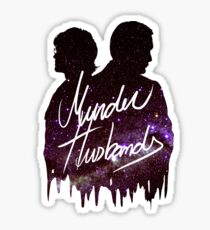Murder Husbands [Galaxy] Sticker