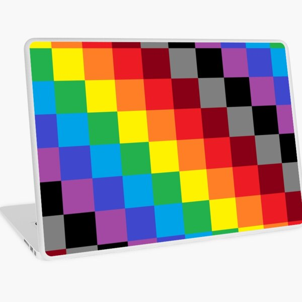 Colored Squares Laptop Skin