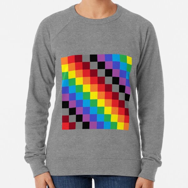 Colored Squares Lightweight Sweatshirt