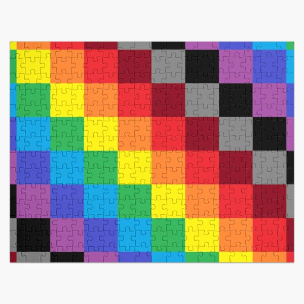 Colored Squares Jigsaw Puzzle
