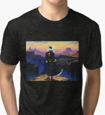 hunter x hunter 1999 chrollo lucilfer sunrise Tri-blend T-Shirt