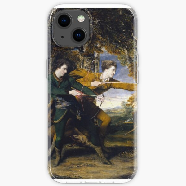 Sir Joshua Reynolds - Colonel Acland and Lord Sydney The Archers, Tate Britain iPhone Soft Case
