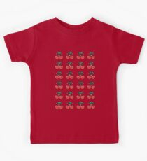 Cherry Pattern Kids Clothes