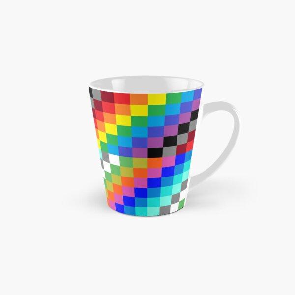 Colored Squares Tall Mug