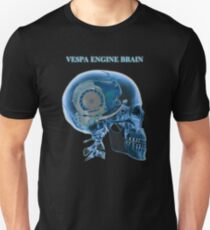 vespa engine brain skull T-Shirt