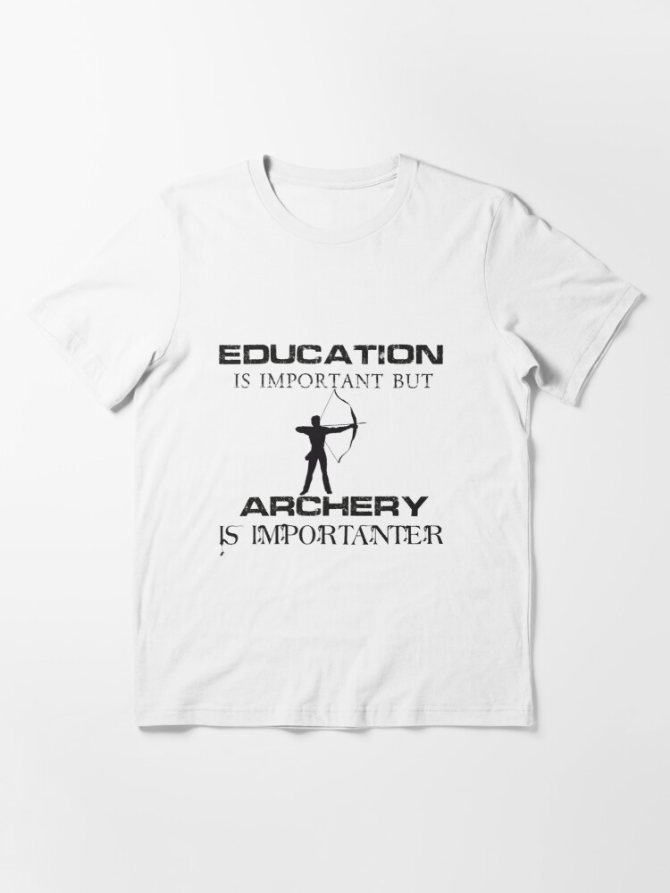 Education Is Important But Darts Is Importanter Funny T-Shirt