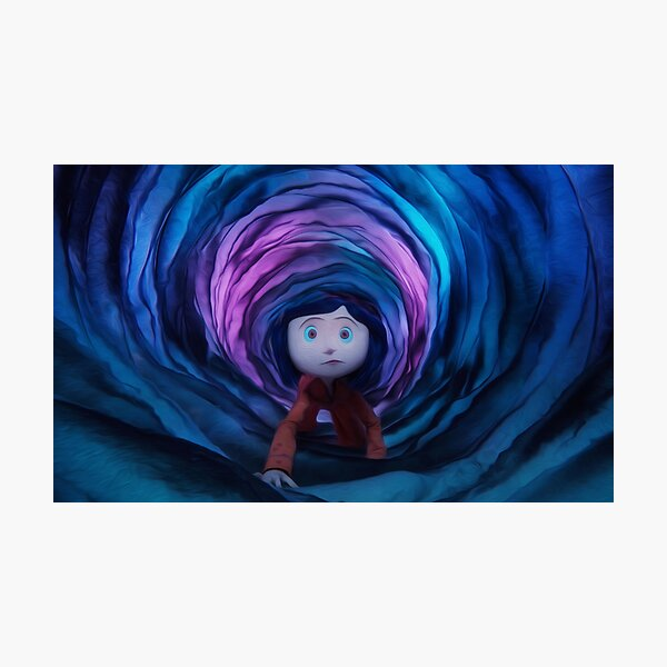 Coraline Tunnel Photographic Print