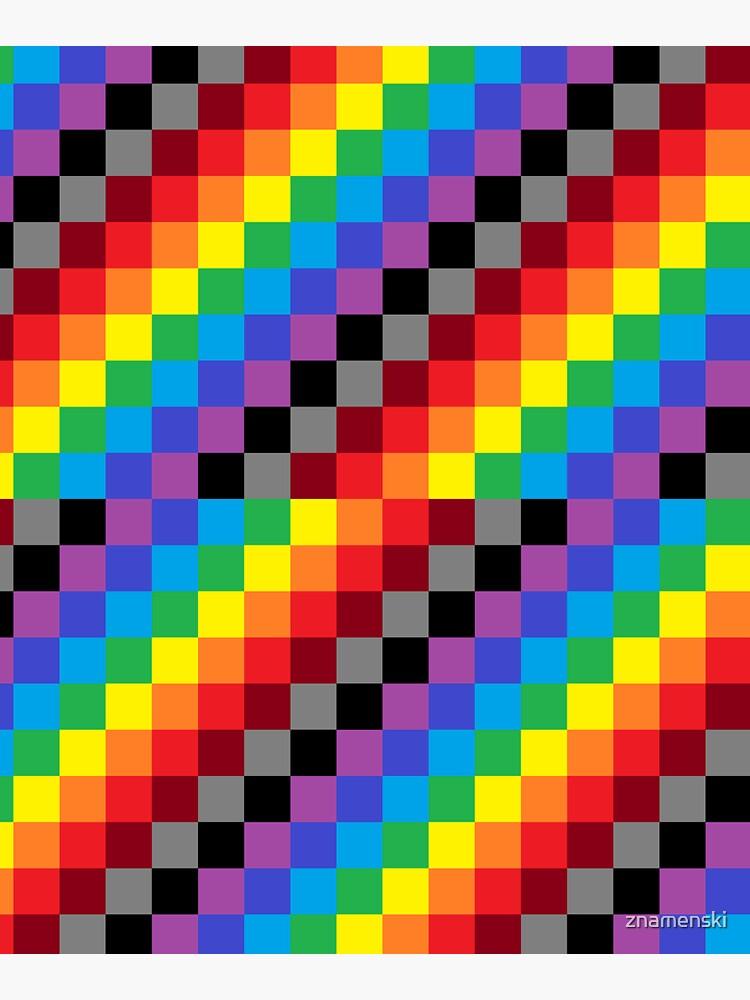 Colored Squares by znamenski