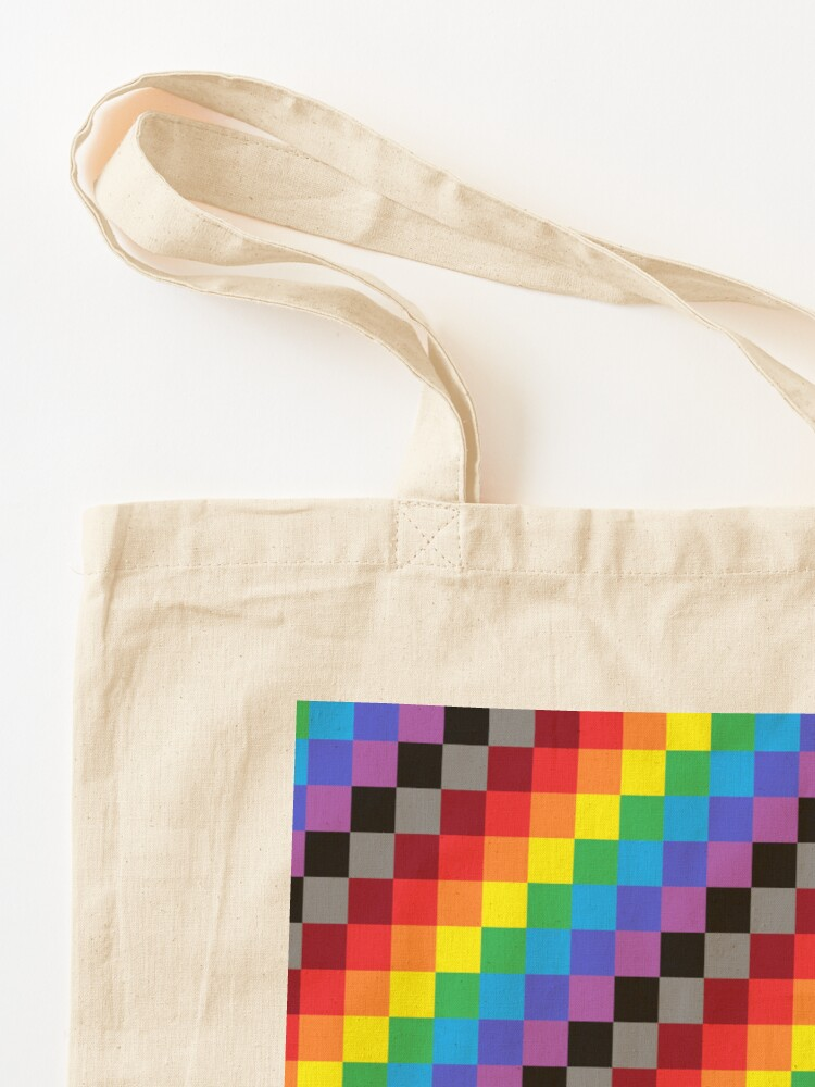 Alternate view of Colored Squares Tote Bag