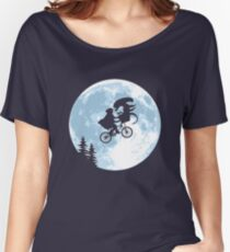 E.T. the Extra-Terrestrial - Xenomorph Women's Relaxed Fit T-Shirt