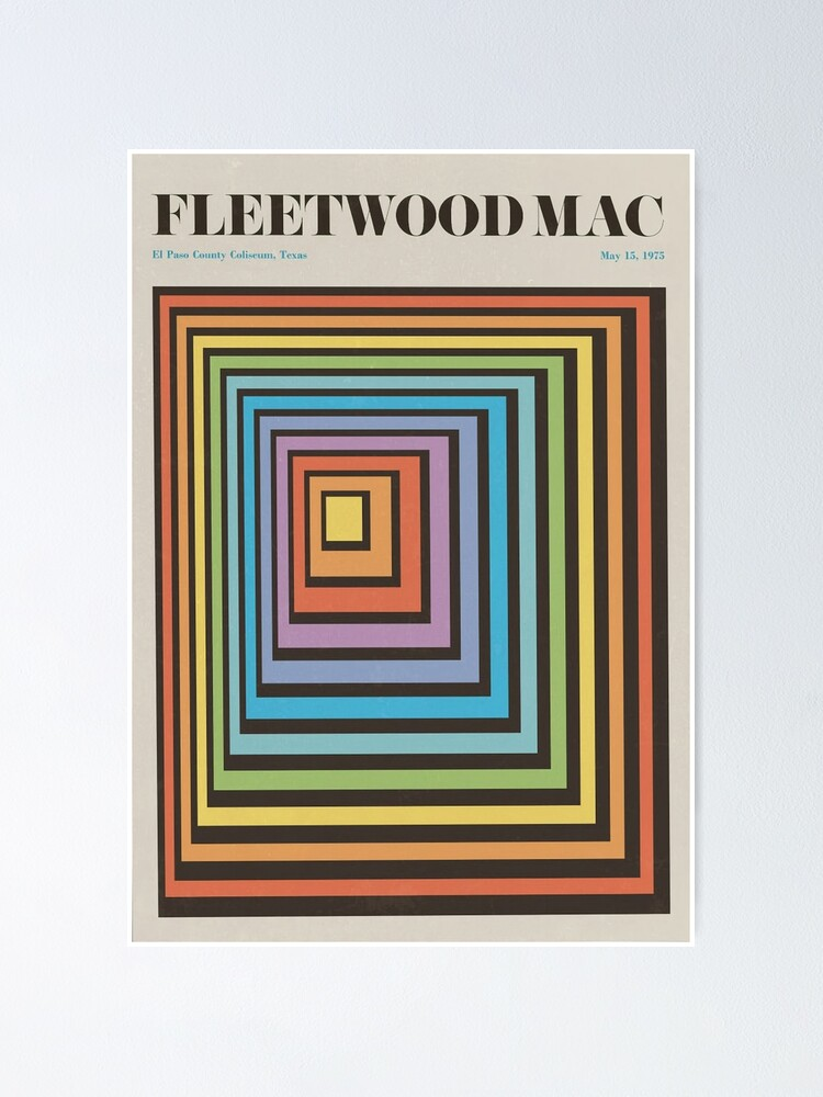 Alternate view of Fleetwood Band Poster
