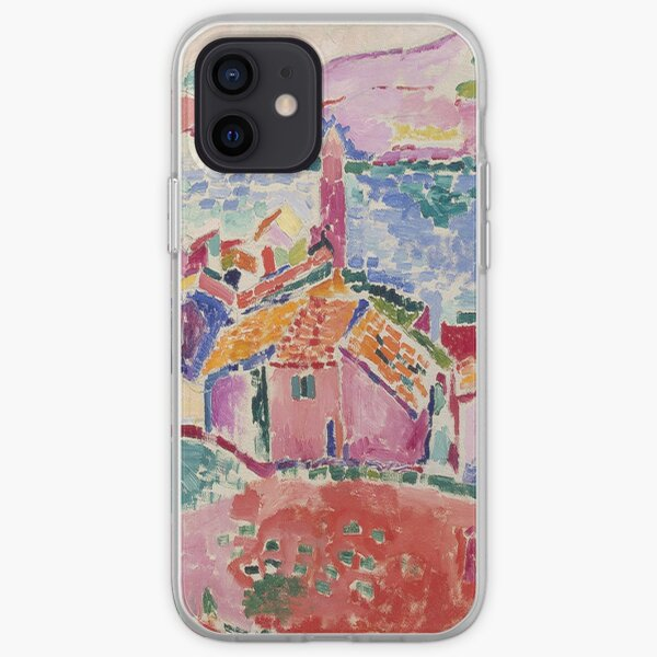 Les toits de Collioure - Henri Matisse Coque souple iPhone