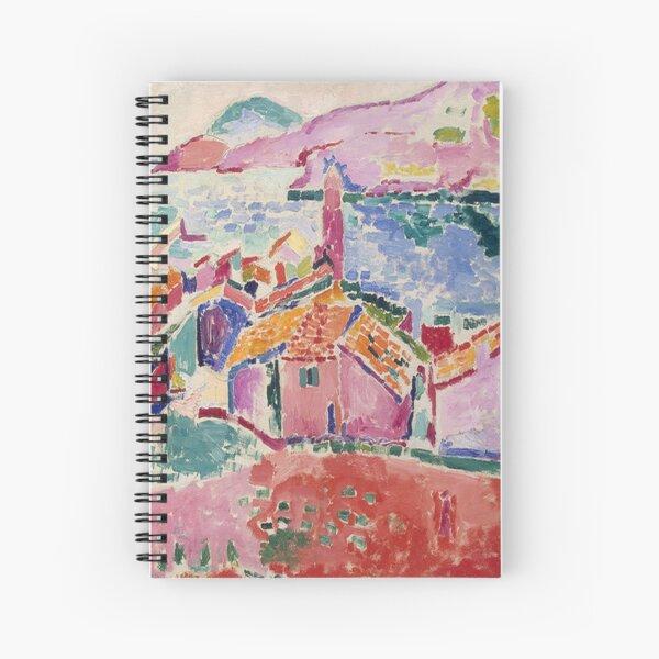 Les toits de Collioure- Henri Matisse  Spiral Notebook