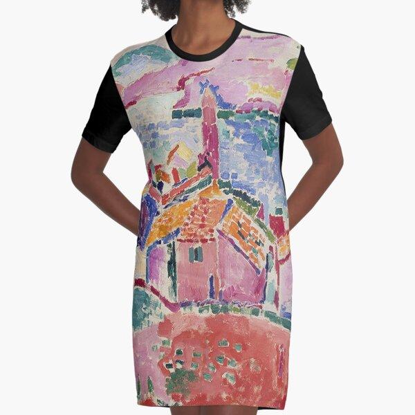 Les toits de Collioure-Henri Matisse T-Shirt Kleid
