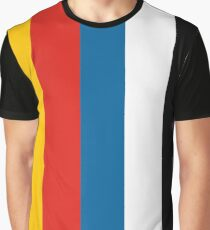 Lego Town Flag Graphic T-Shirt
