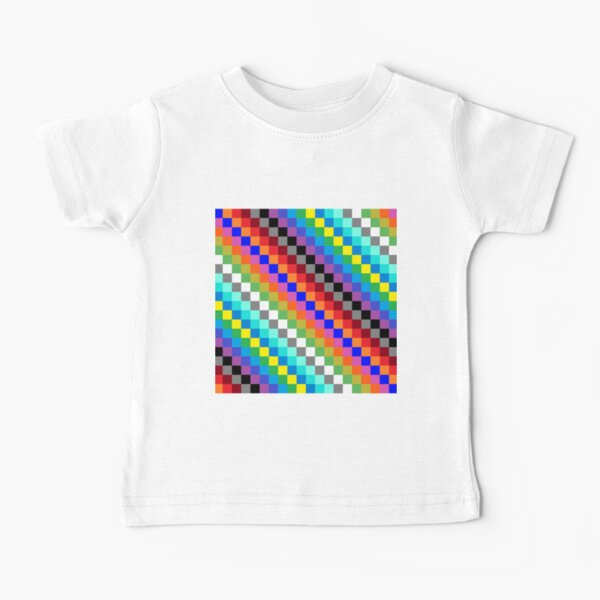 Colored Squares Baby T-Shirt