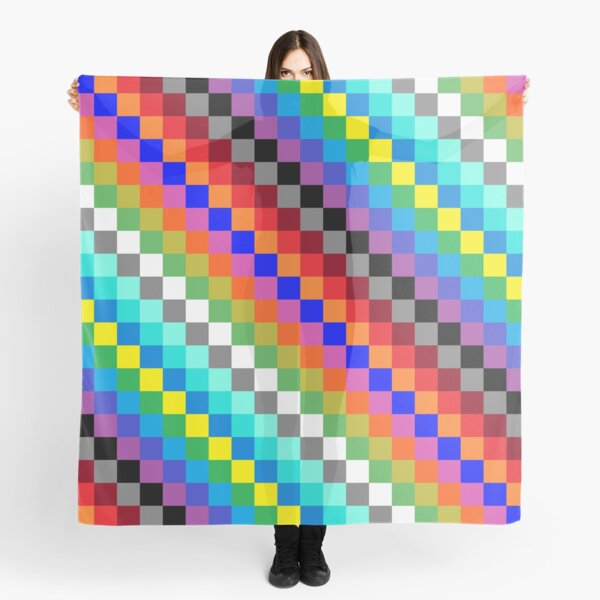 Colored Squares Scarf