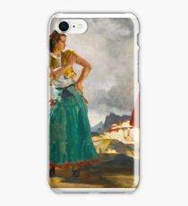 Sir William Russell Flint RAQUEL AND MANUELLA iPhone Case/Skin