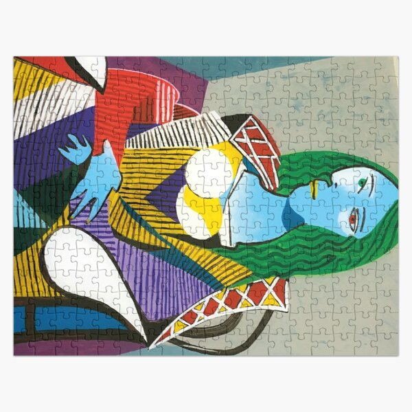 Mona Lisa Picasso Jigsaw Puzzle