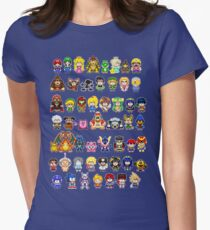 Super Smash Bros Wii U - Pixel Art Characters T-Shirt