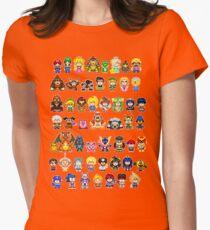 Super Smash Bros Wii U - Pixel Art Characters T-Shirt