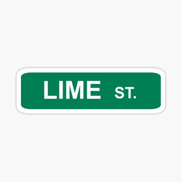 LIME ST. - NECK DEEP Sticker