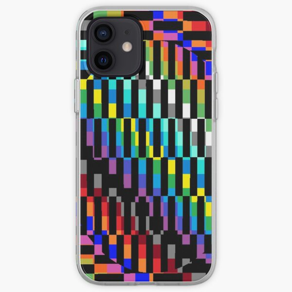 Trippy Colored Squares iPhone Soft Case