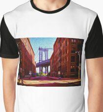 Down under Manhattan Bridge overpass Graphic T-Shirt