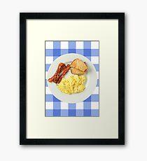 Ron Swanson BAE Framed Print