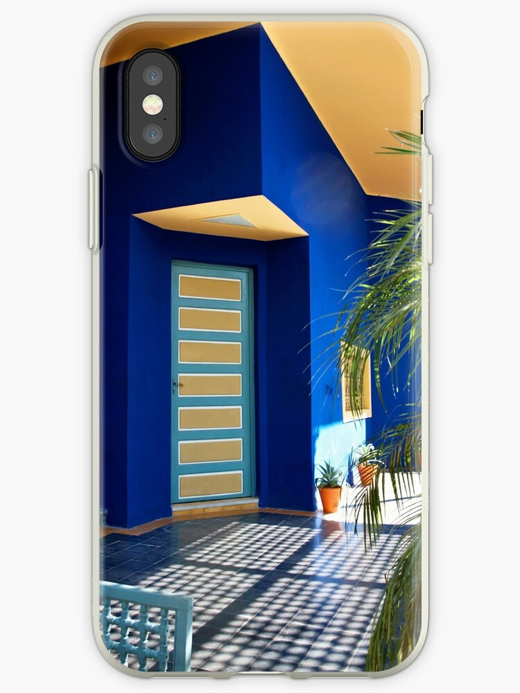 reputable site c00eb e33aa 'House of Yves Saint Laurent, Marrakech' iPhone Case by Ludwig Wagner