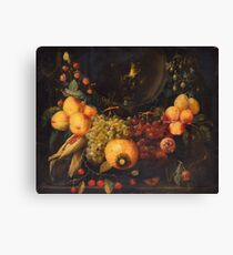 STILL LIFE WITH FRUIT. Canvas Print
