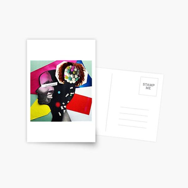 """On Identity""  Postcard"