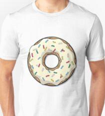 Crema Cartoon Donut Unisex T-Shirt