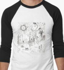 The Enchanted Forest Men's Baseball ¾ T-Shirt