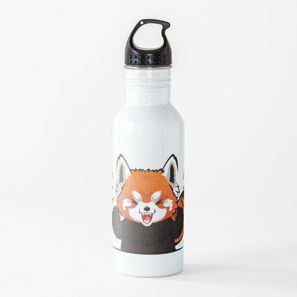 Cute Red Panda Adorable Endangered Species Animal  Water Bottle