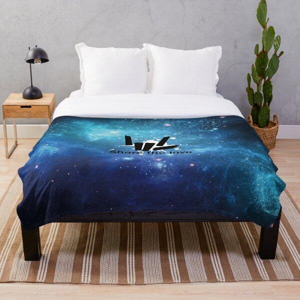 Share the Love Universe tye dye Throw Blanket