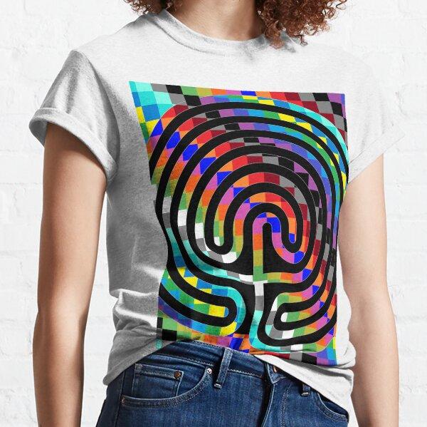 Trippy Colors Classic T-Shirt