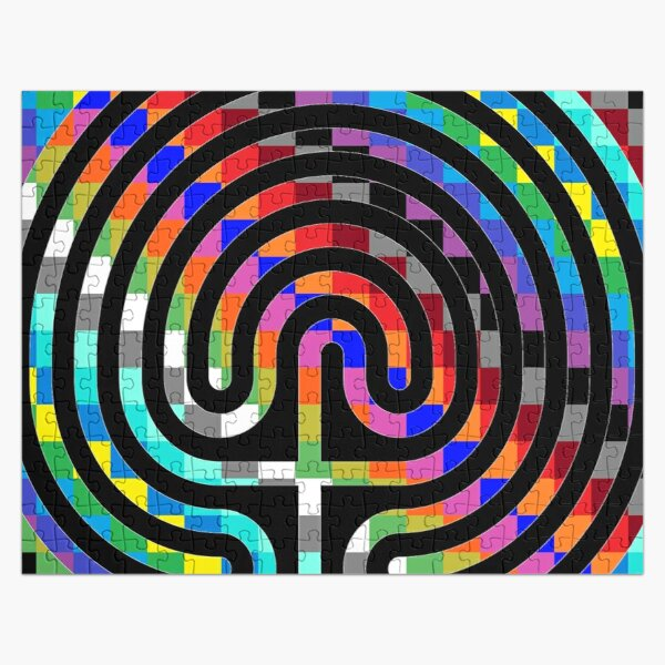 Trippy Colors Jigsaw Puzzle
