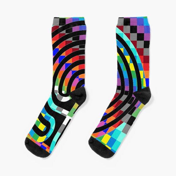 Trippy Colors Socks
