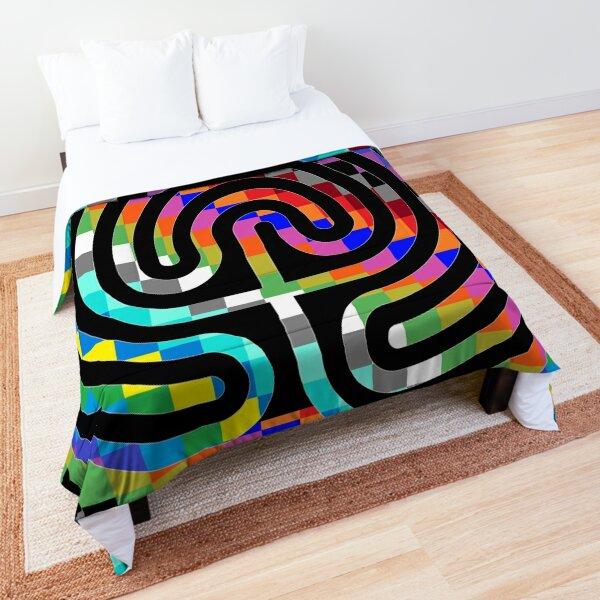 Trippy Colors Comforter